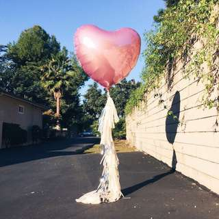Customised Jumbo Heart Balloon