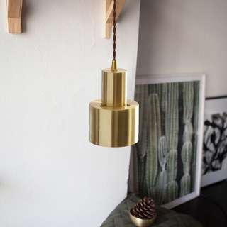 Gold Hanging Pendant Ceiling Light