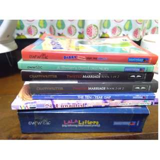 Wattpad book take all  for PHP500