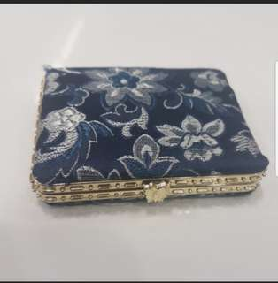 Instock Small Mirror Pocket Mirror With Embroidery Design