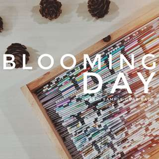 _bloomingday washi sample