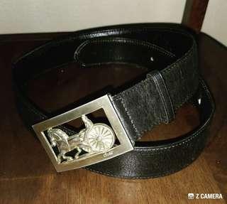 Belt Leather Celine Paris
