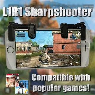 Clicker GEN3/V3.0 L1R1 SharpShooter ROS PUBG Controller v3