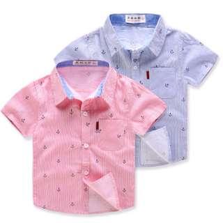 Boy's short-sleeved shirt