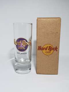 Orlando Hard Rock Hotel Classic Shot Glass, Collectible