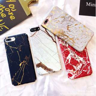 Cracked Marble iPhone Case for 6 / 7 / 8 +