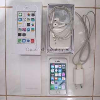 IPHONE 5S 32GB SILVER ORIGINAL