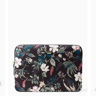Pre-order: KATE SPADE BOTANICAL NYLON UNIVERSAL LAPTOP SLEEVE
