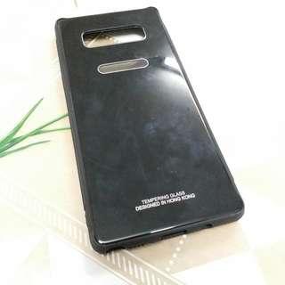 Samsung note8 玻璃底磨砂包邊電話殼(有新貨)