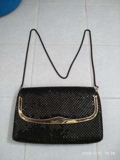 Evening Metallic Mesh Bag