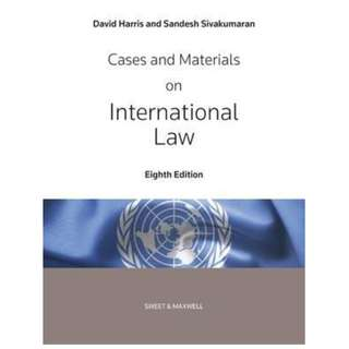 Harris, Cases and Materials on International Law (8th edition)