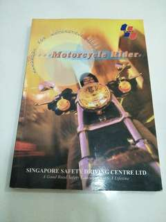 handbook for motorcycle rider