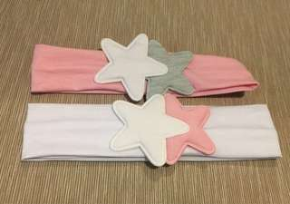 2Pcs Baby Star Headband