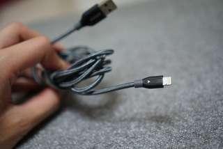 3米長iPhone cable Awei