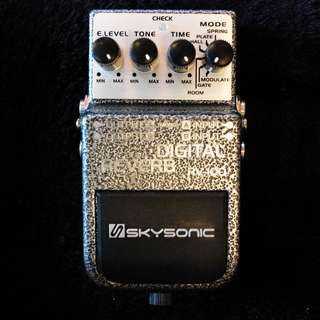 Skysonic Effects Pedals - Digital Reverb RV-100 [Stock Clearance May 2018]