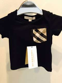 🆕👶🏻👧🏻 Authentic BURBERRY Tee, 18 months & above