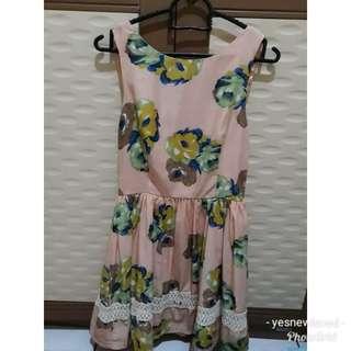 #HoreGajian Floral Dress