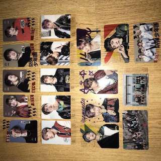 BTS Transparent Photocards