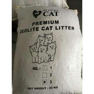 Pasir Kucing Zeolit My lovely cat 25 kg