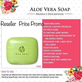 Pax Moly Aloe Vera Soap