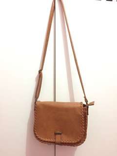Insight Brown Sling Bag