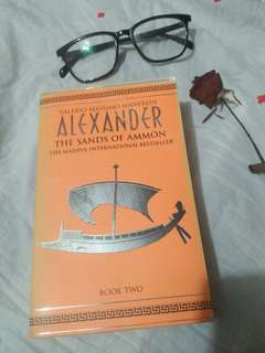 Alexander the sons of Ammon by Valerio Massimo Manfredi