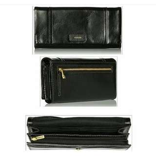 Fossil Ellis29 Clutch Black
