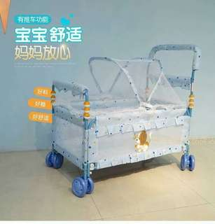 Baby Stroller bed with mosquito net 86×82×55cm