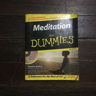 Meditation For Dummies (with CD)
