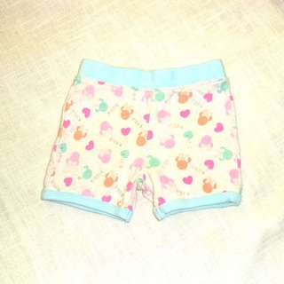 Charity Sale! Authentic Disney Baby Shorts Size 1 Baby Girls