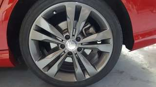 Rims spraying service