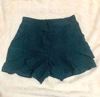 Blue green shorts
