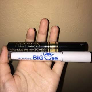 mascara revlon silky girl big brush