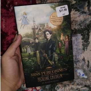 Miss Peregrines Home For Peculiar Children (HARDBOUND) Tie-in Movie Cover and MAZE RUNNER SET FOR SALE