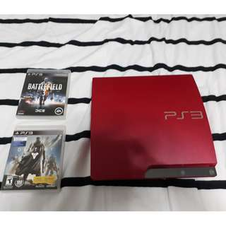 SONY PS 3  320GB + HDMI CABLE + GAMES