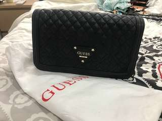 Authentic guess cross body bag