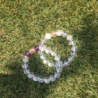 Crystal bracelet // READ DESCRIPTION BOX