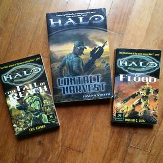 ⏪rewind time, CLASSIC HALO novels