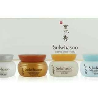 Sulwhasoo Cream Kit (4 Item)