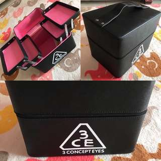 3CE make up case