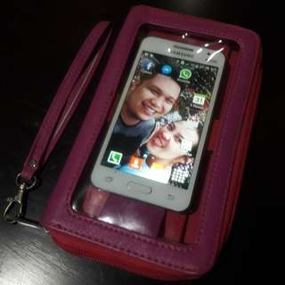 Wallet with Cellphone holder