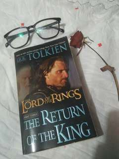 the Lord of the Rings The Return of the King by JRR Tolkien