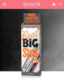 Benefit Real Big Steal Mascara