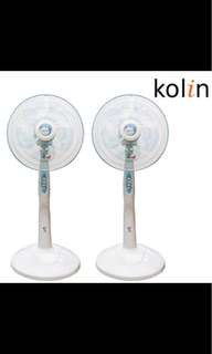 Kolin14吋節能涼風立扇