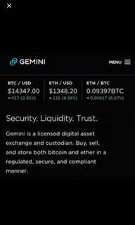Selling bitcoin and etherum