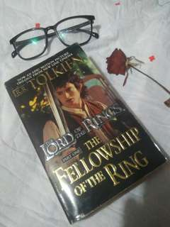 the Lord of the Rings The Fellowship of the Ring by JRR Tolkien
