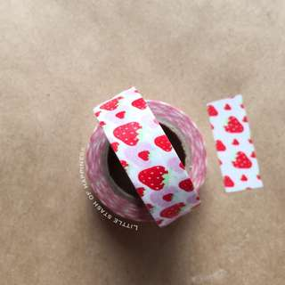 FREE NORMAL MAIL - Strawberry Washi Tape #010