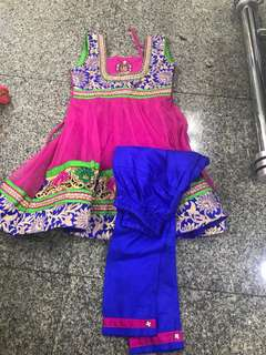 Indian dress 2 year