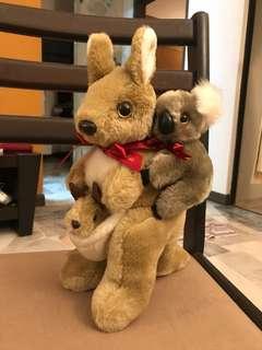 Kangaroo & Koala Original From Australia