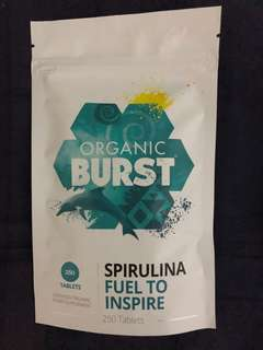 Organic burst spirulina